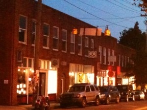 noda strip at night - NoDa Charlotte