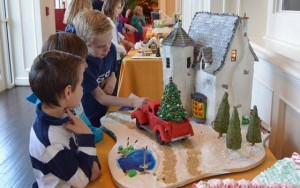 Gingerbread Lane at Ballantyne Hotel by Sara Kendall