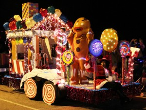 Scenes from the Kannapolis Christmas Parade Saturday night along Main Street in Kannapolis. (photo by Michael Knox)