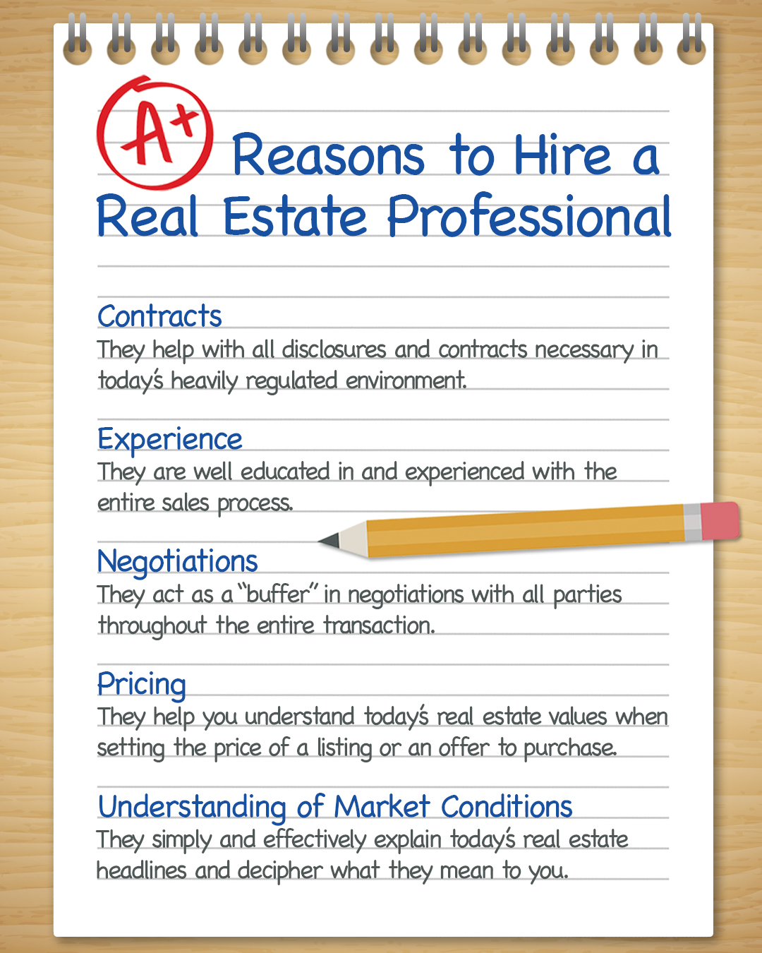 A+ Reasons to Hire a Real Estate Pro [INFOGRAPHIC] | Simplifying The Market