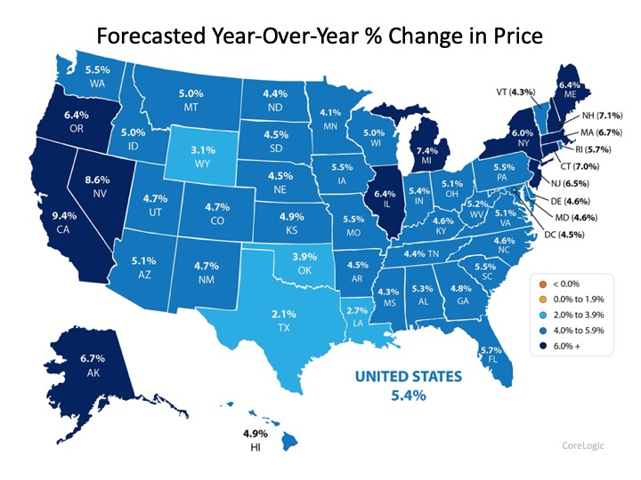 2020 Forecast Shows Continued Home Price Appreciation | Simplifying The Market