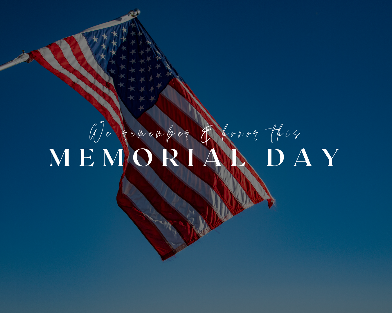 We Remember & Honor Those Who Gave All | Simplifying The Market